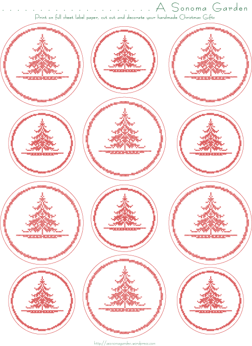 Christmas Gifts To Make With Christmas Label Download